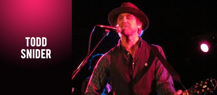 Todd Snider at Bell's Eccentric Cafe