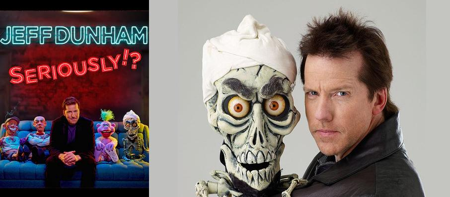 Jeff Dunham at Allegan County Fair