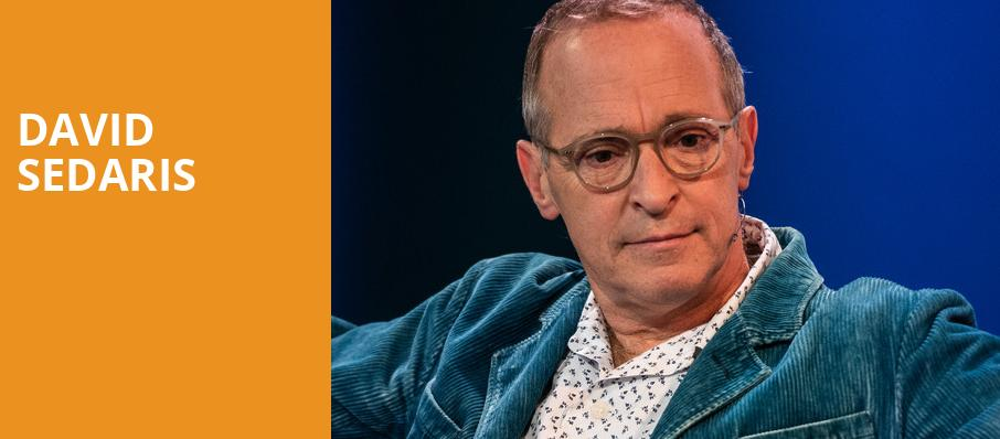 David Sedaris, State Theatre, Kalamazoo